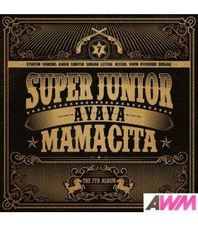 Super Junior (슈퍼주니어) Vol. 7 - MAMACITA (édition coréenne)