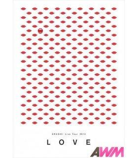 Arashi (嵐) ARASHI Live Tour 2013 - LOVE (2DVD) (édition coréenne)