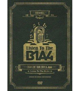 """B1A4 - B1A4 Live Tour 2014 in Japan """"Listen To The B1A4"""" (édition japonaise)"""