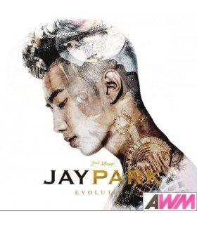 Jay Park (박재범) Vol. 2 - Evolution (édition coréenne) (Poster offert*)