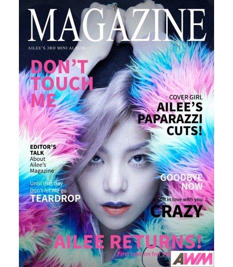 Ailee (에일리) Mini Album Vol. 3 - Magazine (édition coréenne)