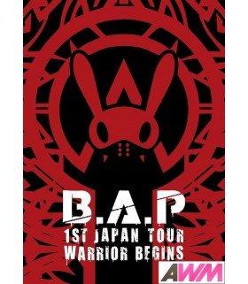 B.A.P - 1st Japan Tour Live DVD - WARRIOR BEGINS (2DVD+PHOTOBOOK) (édition limitée japonaise)