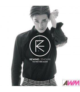 Zhou Mi (조미 / Super Junior - M) Mini Album Vol. 1 - Rewind (édition coréenne)