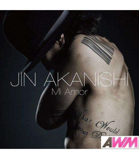 Jin Akanishi (赤西仁) Mi Amor (Type A) (ALBUM+DVD) (édition limitée japonaise)