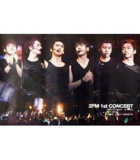 Affiche officielle 2PM - 1st Concert Don't Stop Can't Stop : This Is For My Hottest DVD (édition coréenne)
