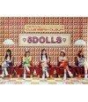 Affiche officielle 5DOLLS Club Remix Album - Time to Play