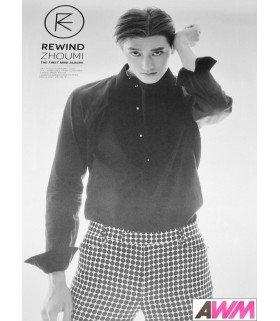Affiche officielle Zhou Mi (Super Junior - M) Mini Album Vol. 1 - Rewind