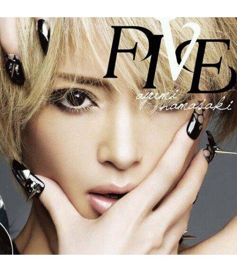Ayumi Hamasaki - Five (ALBUM+DVD)(édition japonaise)