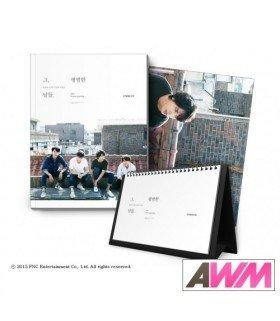 CNBLUE (씨앤블루 ) 2015 Season's Greetings (Calendrier officiel) (édition coréenne)