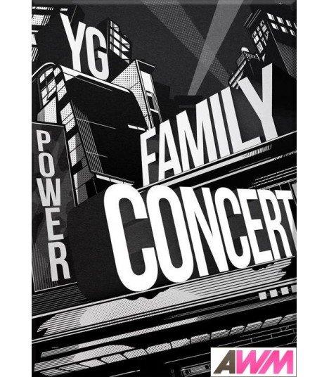 YG Family (와이지 패밀리) 2014 YG Family Concert in Seoul Live CD (3CD+PHOTOBOOK) (édition coréenne)