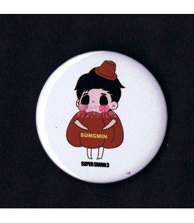 Badge SUPER JUNIOR - SUNGMIN 004
