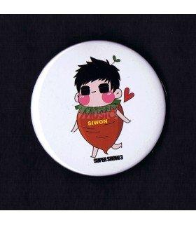 Badge SUPER JUNIOR - SIWON 002