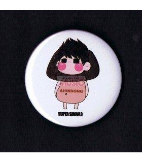 Badge SUPER JUNIOR - SHINDONG 001