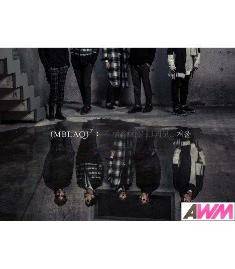 Affiche officielle MBLAQ Mini Album Vol. 7 - Winter