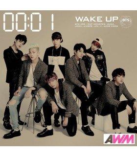 BTS (防弾少年団) WAKE UP (Type A) (ALBUM+DVD) (édition limitée japonaise)