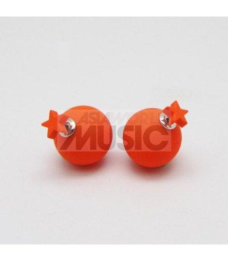 Boucles d'oreilles Popping Star (ORANGE)