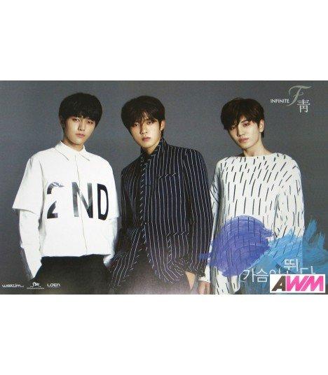 Affiche officielle Infinite F - Single Album Vol.1 (Type A)