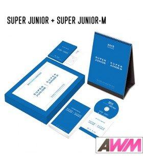 Super Junior & Super Junior-M (슈퍼주니어 & 슈퍼주니어-엠) 2015 Season's Greetings (Calendrier officiel) (édition coréenne)