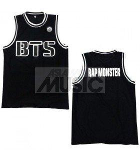 BTS - Maillot basketball RAP MONSTER (BLACK)