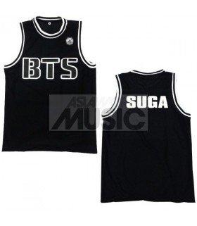 BTS - Maillot basketball SUGA (BLACK)