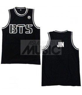 BTS - Maillot basketball JIN (BLACK)