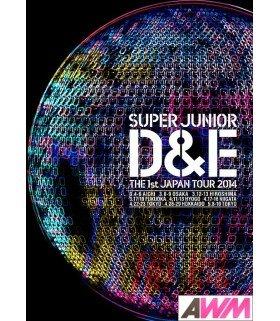 DONGHAE & EUNHYUK (Super Junior) SUPER JUNIOR D&E THE 1st JAPAN TOUR 2014 (DVD) (édition japonaise)