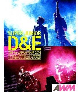 DONGHAE & EUNHYUK (Super Junior) SUPER JUNIOR D&E THE 1st JAPAN TOUR 2014 (2BLU-RAY) (édition limitée japonaise)