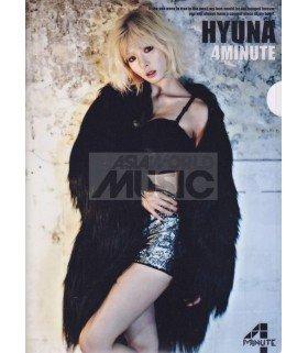 HyunA (4minute) - Porte-Document Double Cover 001
