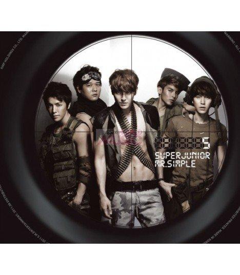 Super Junior Vol. 5 - Mr. Simple (Type B) (Poster offert en pré-commande)