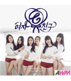 GFRIEND (여자친구) Mini Album Vol. 1 - Season of Glass (édition coréenne)