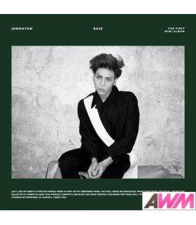 Jonghyun (종현) Mini Album Vol. 1 - Base (édition coréenne)