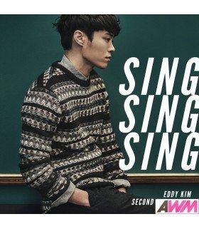 Eddy Kim (에디킴) Mini Album Vol. 2 - Sing Sing Sing (édition coréenne)