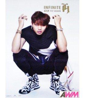 Affiche officielle INFINITE H Mini Album Vol. 2 - Fly Again (DONGWOO)