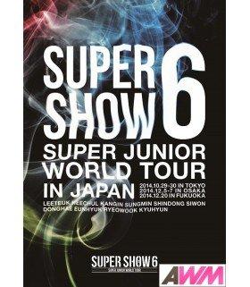 Super Junior - SUPER JUNIOR World Tour Super Show 6 in Japan (2DVD) (édition normale japonaise)