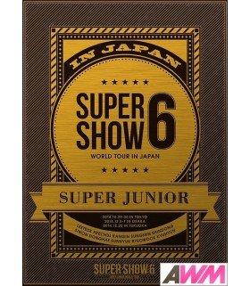 Super Junior - SUPER JUNIOR World Tour Super Show 6 in Japan (3DVD) (édition limitée japonaise)