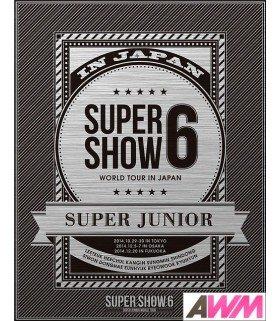 Super Junior - SUPER JUNIOR World Tour Super Show 6 in Japan (2BLU-RAY) (édition limitée japonaise)