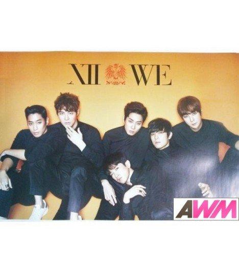 Affiche officielle Shinhwa - WE (Thanks Edition)