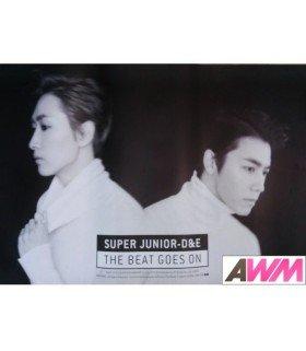 Affiche officielle Super Junior-D&E - The Beat Goes On (Type B)
