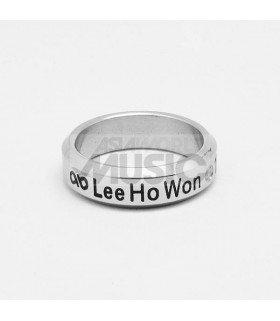 Bague Anneau INFINITE - LEE HO WON 1991.03.28
