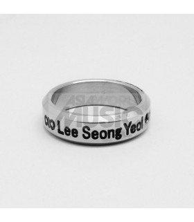 Bague Anneau INFINITE - LEE SEONG YEOL 1991.08.27