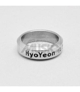 Bague Anneau Girls' Generation - HYOYEON 1989.09.22