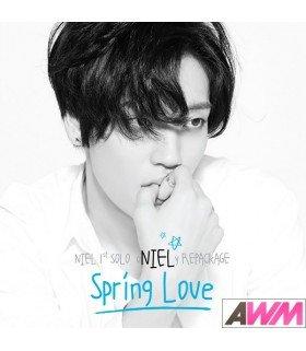 NIEL (니엘) Vol. 1 - Spring Love (1st Solo Repackage Album) (édition coréenne)