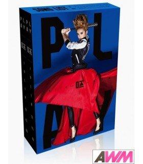 Jolin Tsai (蔡依林) Jolin Play (Replay Deluxe International Version) (ALBUM+DVD) (édition taiwanaise)