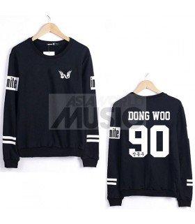 Sweat - INFINITE Style - DONG WOO 90 (Black)