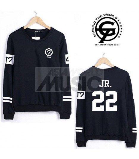 Sweat - GOT7 Style - JR. 22 (Black)