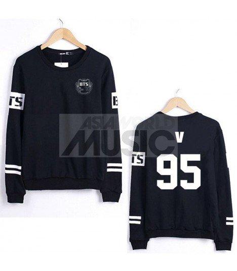 Sweat - BTS Style - V 95 (Black)