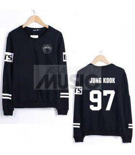 Sweat - BTS Style - JUNG KOOK 97 (Black)