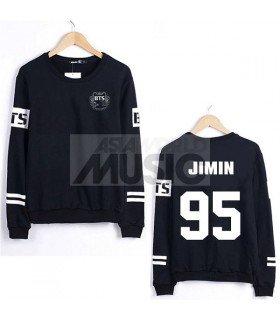 Sweat - BTS Style - JIMIN 95 (Black)