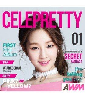 Park Boram (박보람) Mini Album Vol. 1 - Celepretty (édition coréenne)
