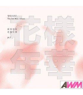BTS (방탄소년단) Mini Album Vol. 3 - The Most Beautiful Moment in Life Pt. 1 (White Version) (édition coréenne)